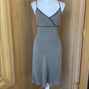 Ann Taylor midi slip dress